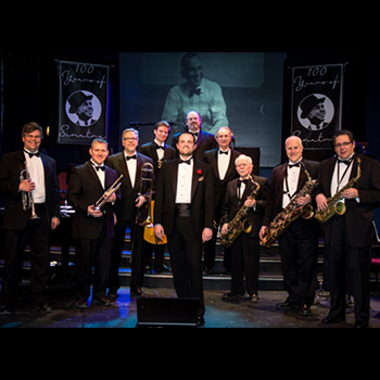 Andrew Walesch and Big Band group photo